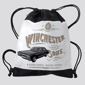 Supernatural - Winchester & Sons mu Drawstring Bag